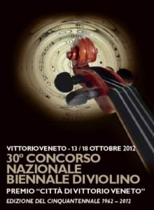 Concorso Nazionale Biennale di Violino - 2012