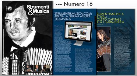 Strumenti e Musica copertina N.16