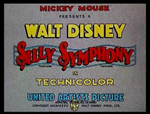 Che Schonberg mi perdoni (seconda parte - Silly Symphony)