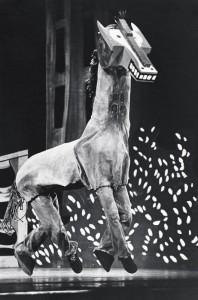 He comprends riens dans la musique (terza parte) Il cavallo