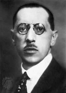 He comprends riens dans la musique (terza parte) Stravinsky