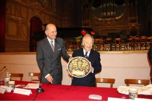 Alberto Zedda e GIorgio Girelli