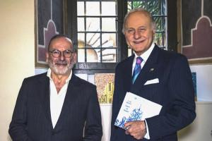 L'Ambasciatore Giorgio Girelli con Luigi Ballarin
