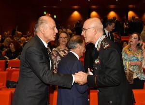 Ambasciatore Girelli e il Generale Nistri