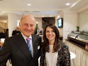 Ambascitore Giorgio Girelli e Dottoressa Marica Branchesi