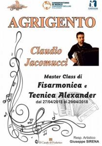 Claudio Jacomucci - Masterclass Agrigento 2018