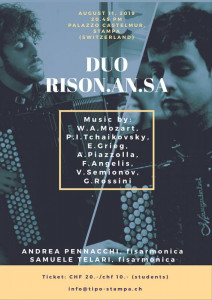 Duo Rison.An.Sa - concerto a Stampa 2019