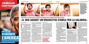 Filippo Arlia - articolo Famiglia Cristiana