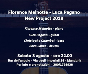 Florence Melnotte - Luca Pagano New Project 2019