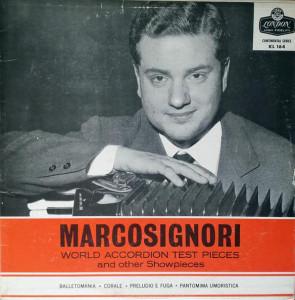 Gervasio Marcosignori - copertina disco