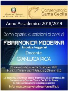 Gianluca Pica - Corso di Fisarmonica Moderna