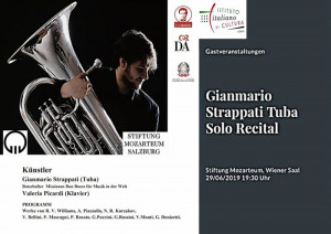 Gianmario Strappati - Valeria Picardi - Mozarteum Salisburgo
