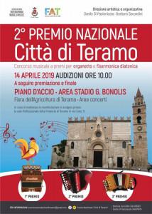 """2° Premio Nazionale """"Città di Teramo"""""""
