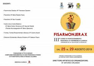 III corso di perfezionamento musicale Fisarmonjerax - I Docenti