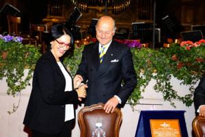Il Direttore Generale Maria Letizia Melina e Giorgio Girelli