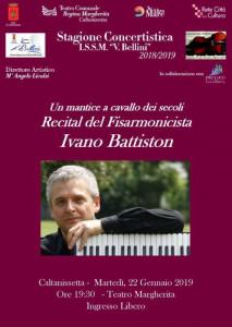 """Ivano Battiston - Masterclass Istituto Superiore di Studi Musicali """"Vincenzo Bellini"""" 2019"""