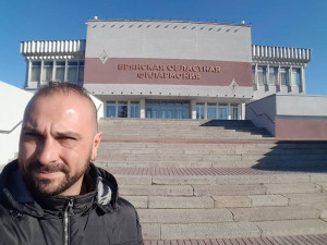 Marco Gemelli e la Regional Bryansk Symphony Orchestra - Mosca 2018