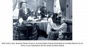 Maria Letizia Pascoli in un film di Mario Soldati