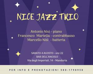 Nice Jazz Trio - Manduria 4 Agosto