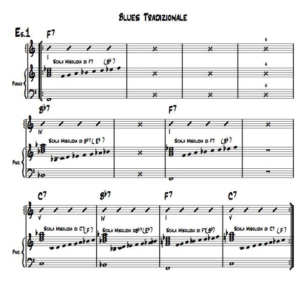 Pillole di jazz - 5° parte esempio N.1