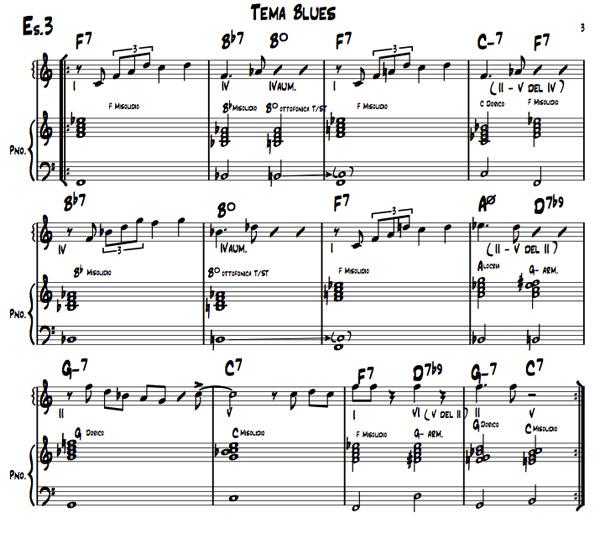 Pillole di jazz - 5° parte esempio N.3