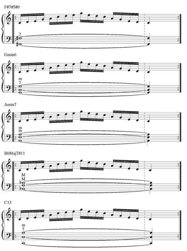 Pillole di jazz... Jazz Accordion Scales - lezione 7 (immagine 10)