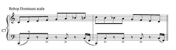 Pillole di jazz... Jazz Accordion Scales - lezione 7 (immagine 6)