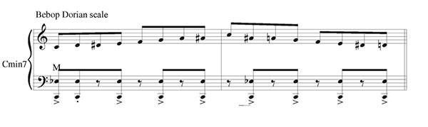 Pillole di jazz... Jazz Accordion Scales - lezione 7 (immagine 7)