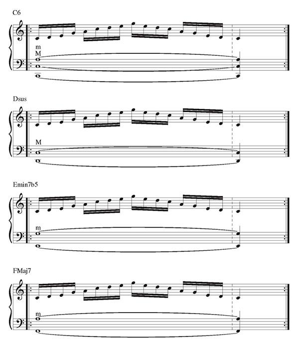 Pillole di jazz... Jazz Accordion Scales - lezione 7 (immagine 9)