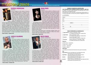Scuola comunale di musica Vallotti - masterclasses 2018 - modulo di iscrizione