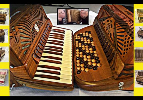 """Siwa & Figli Accordions … a modern design with """"a ear on the past"""""""