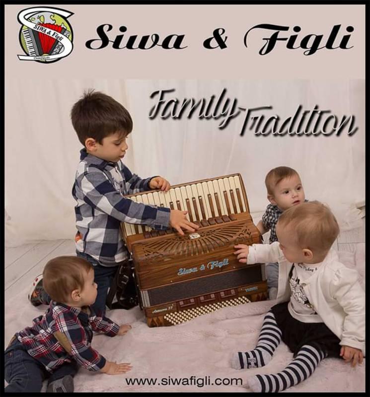 "Siwa & Figli Accordions … a modern design with ""a ear on the"