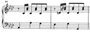 Sonata K239 (battute 15 e 16)