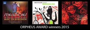 Vincitori Orpheus Award 2015