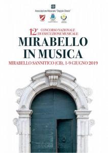 """XII Concorso Nazionale di Esecuzione Musicale """"Mirabello in Musica"""""""