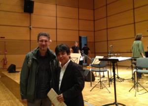 Toshio Hosokawa e Corrado Rojac