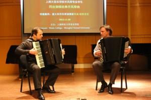 Patarini e Selivanov in Cina